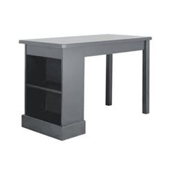 Revision Desk, H76 x W121 x D60cm, dark grey