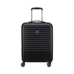 Caumartin Plus 4-Double wheel slim cabin trolley case, 55cm, Black