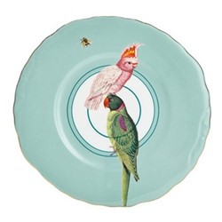 Parrot Set of 6 dessert plates, 22cm