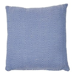 Diamond Cushion, L45 x W45cm, cobalt