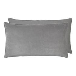 Gable Cushion, 50 x 90cm, mud