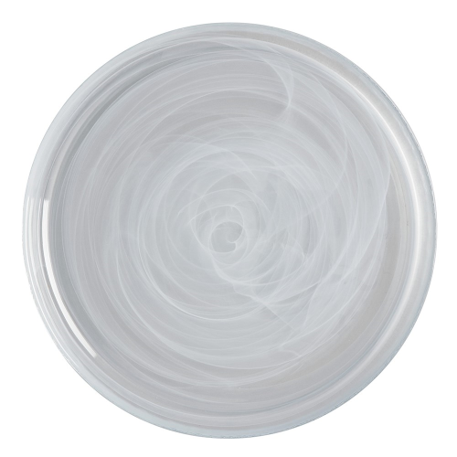 Marblesque Marblesque Plate, White