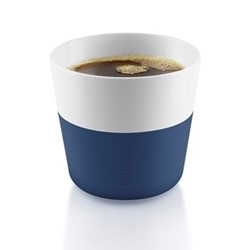Lungo Pair of tumblers, 230ml, navy blue