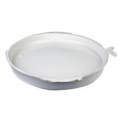Marina Round platter, D36cm, white