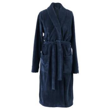 Einar Bath gown, large, indigo