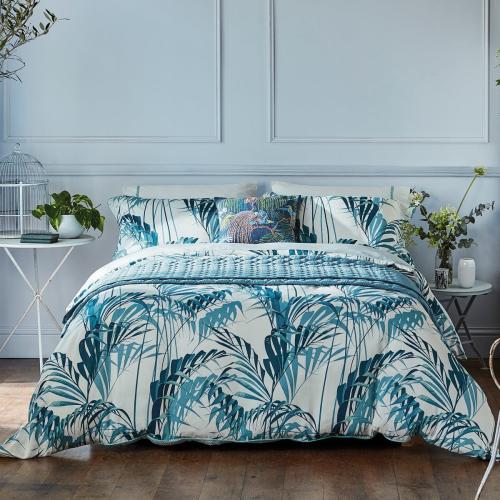 Palm House Oxford pillowcase, Eucalyptus