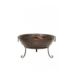 Firebowl, 70cm, dark brown