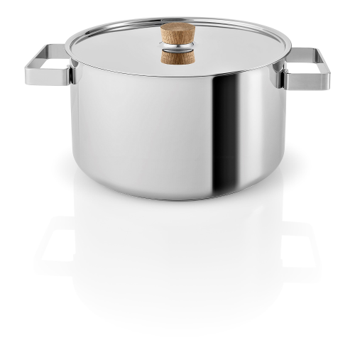 Nordic kitchen Pot, 6 Litre, Stainless Steel