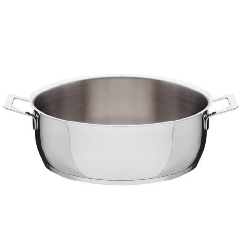 Pots & Pans by Jasper Morrison Low casserole, 28cm, stainless steel