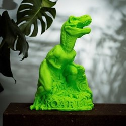 Dino Roar Lamp, H33.5 x L28 x W25cm, green