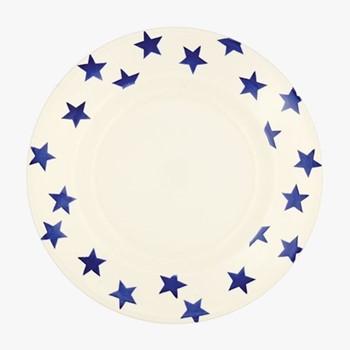 Blue Star Dinner plate, 27.5cm