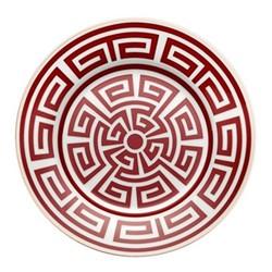 Labirinto Plate, 22cm, scarlatto