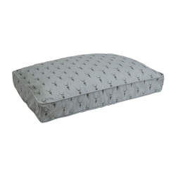 Highland Stag Pet mattress, 88 x 68cm, Removable Cover