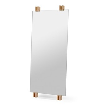 Cutter Mirror, W50 x D5.7 x H110cm, oak