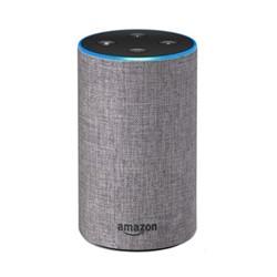Echo smart speaker, heather grey