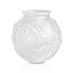 Hirondelles Vase, H215 x D215mm, Clear