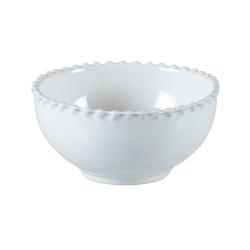 Pearl Set of 6 bowls, 13cm, White