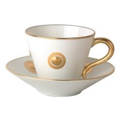 Ithaque Espresso cup, H7cm, gold