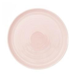 Pinch Set of 4 dinner plates, D27.3cm, pink
