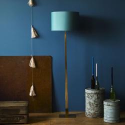Trafalgar Floor lamp - base only, H144cm, Antique Brass