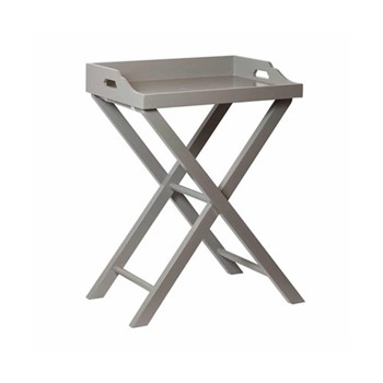 Chanterelle Butlers table, 53 x 40 x 71cm, purbec stone
