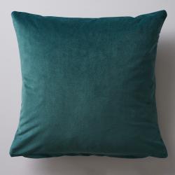 Albion Velvet cushion, 45 x 45cm, Green
