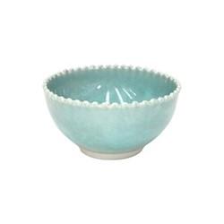 Pearl Set of 4 soup/cereal bowls, 16.5cm, aqua