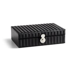 Cooper Watch box, 31 x 22 x 9cm, black