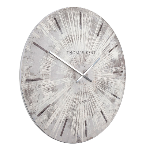 Starburst Wall clock, Dia92cm, Grey