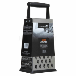 Four sided box grater, 24.5cm