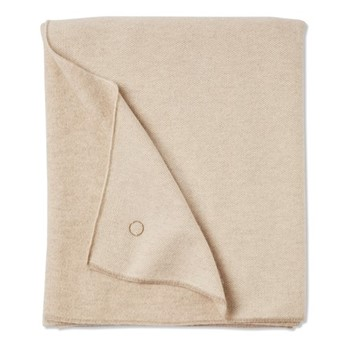 Tano Throw, 180 x 120cm, beige/ivory