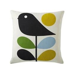 Early Bird Cushion, 45 x 45cm, duckegg