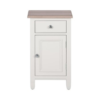 Chichester Bedside cabinet (right), W43 x D38.5 x H72cm, shell