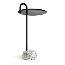 Bowler by Shane Schneck Side table, H70.5 x Dia36cm, black