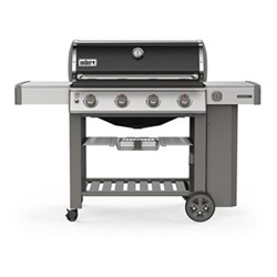 Genesis II E-410 GBS Gas barbeque, H120 x W165 x D74cm, black