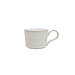 Natural Canvas Tea/coffee cup, 22cl, Textured