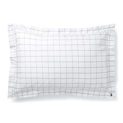 Baxter Pillow sham, 50 x 75cm, charcoal