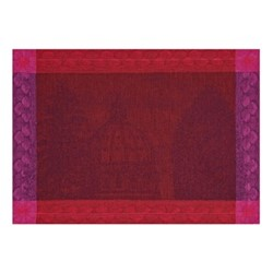 Symphonie Baroque Set of 4 placemats, 54 x 38cm, maroon