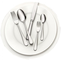 Oscar 30 piece cutlery canteen in picture box, 44 x 28 x 5cm, Stainless Steel