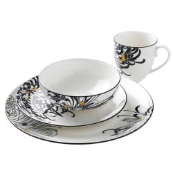 Monsoon - Chrysanthemum 16 piece tableware set