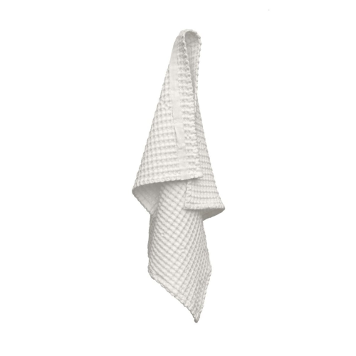 Waffle Hand towel, 50 x 75cm, Natural White