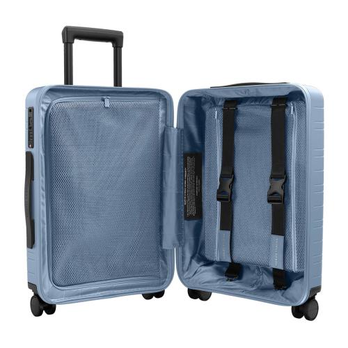 H5 Cabin trolley suitcase, W40 x H55 x D20cm, Blue Vega
