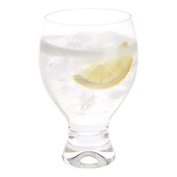 Home Bar Set of 4 gin goblet glasses, H14cm - 43cl, clear