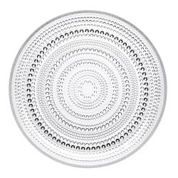 Kastehelmi Plate, 24.8cm D, Clear