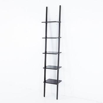 Libri Shelf, W38 x D30 x H227cm, Black Ash