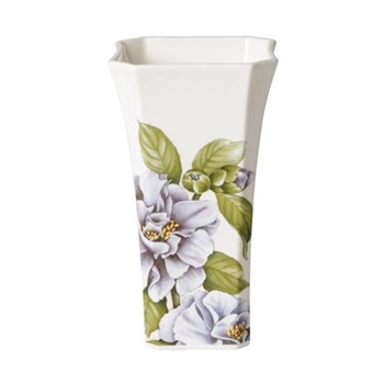 Quinsai Garden Gifts Vase small, H17.2 x L9.7cm, bone porcelain