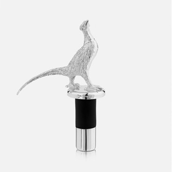The Highland Safari Collection Stopper, D4.5 x H11cm, pheasant