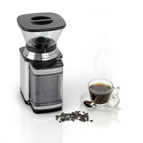 DBM8U Burr coffee grinder, Brushed Stainless Steel