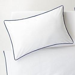 Bobbi Super king size duvet and pillowcase set, navy