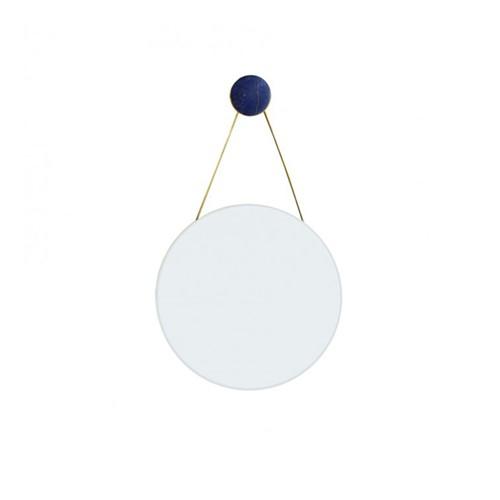 Round mirror, Dia40cm, Lapis